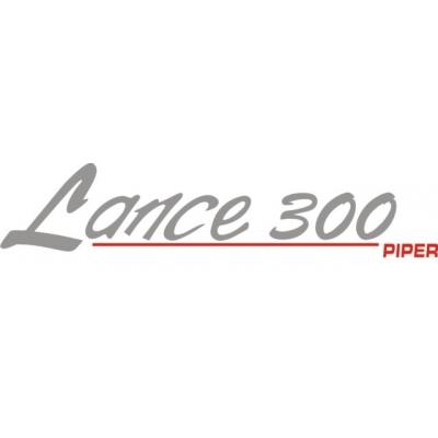 Piper Lance 300 Decal/Vinyl Sticker! 3