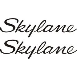 Cessna Skylane Aircraft Logo,Decal/Sticker 2.75''h x 12''w!
