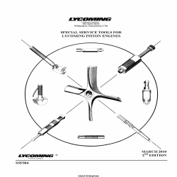 Lycoming Piston Engines Special Service Tools