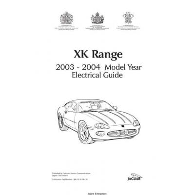 Jaguar XK Ranger Electrical Guide $9.95