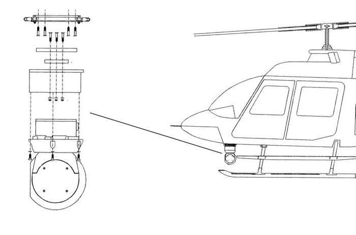 Bell TH-67, Inframetrics Thermal Imager Quick Mount Kit