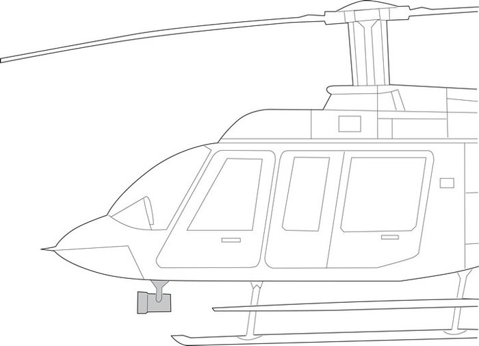 Bell 407, Quick Mount Kit