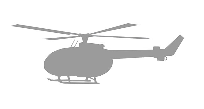 Airbus Helicopter Windows, Interiors, Skid Shoes, Ground