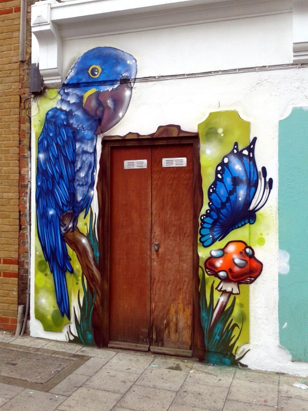 Aeroarts London Graffiti Mural Artist