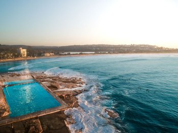 Dee Why Pool Drone Photo