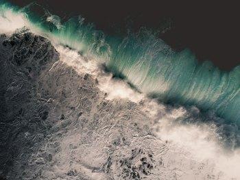 Wave Crashing on Long Reef Beach