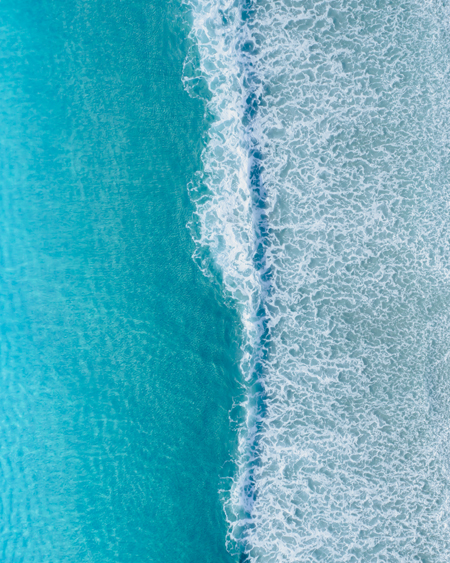 Birds Eye View of the Ocean