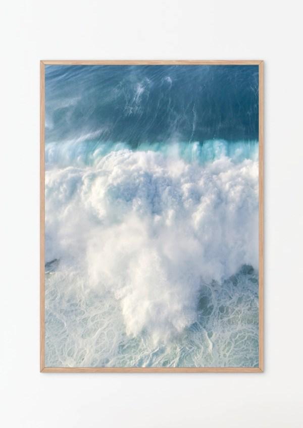 Coastal Ocean Wall Art Print