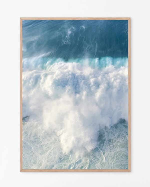 Coastal Ocean Wall Art Print
