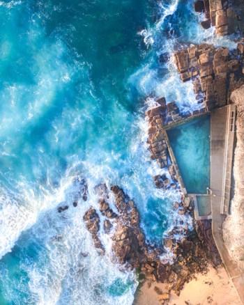Avalon Ocean Pool Aerial