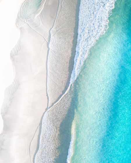 Clean Shore Break Aerial