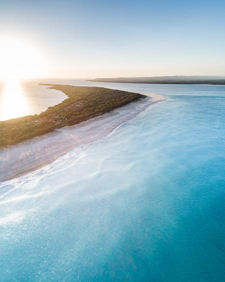 Drone Image of Inskip, Queensland