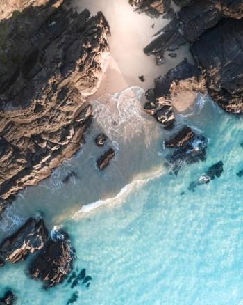 Seal Rocks Aerial