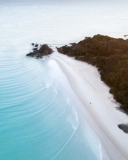 The Pass, Byron Bay Aerial