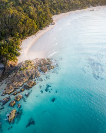 The Pass Byron Bay Drone Photo