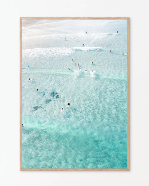 The Pass Byron Bay Wall Art Print