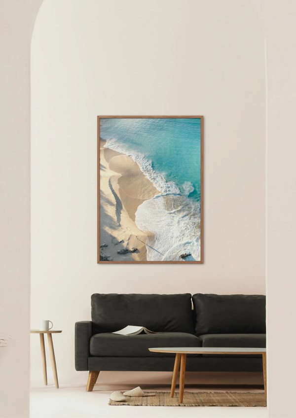Coastal Beach Fine Art Print