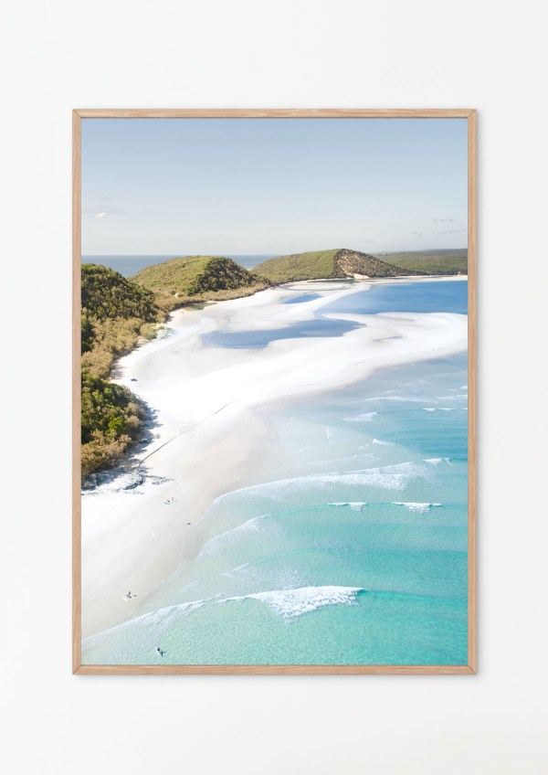 Double Island Point Photography Wall Print