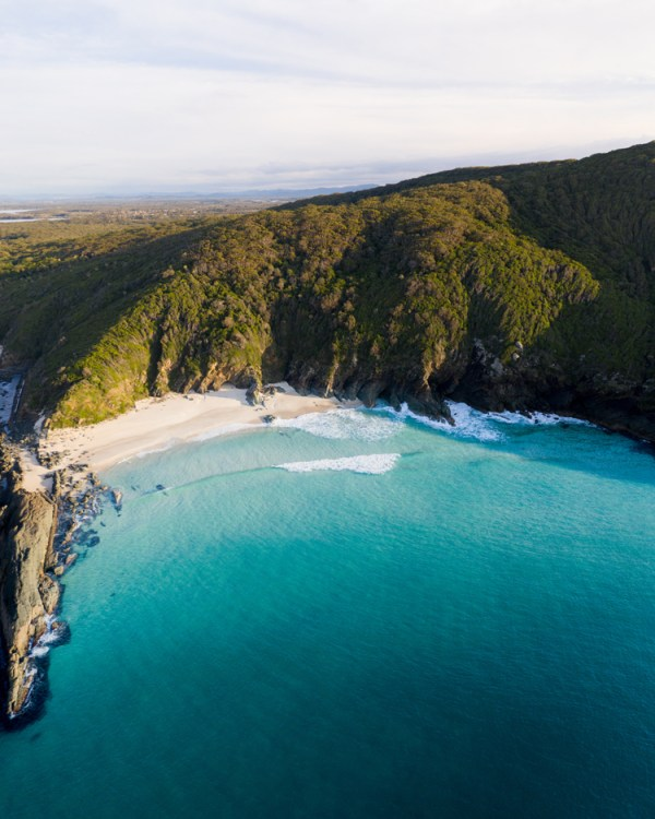 Aerial View Mid North Coast Gem