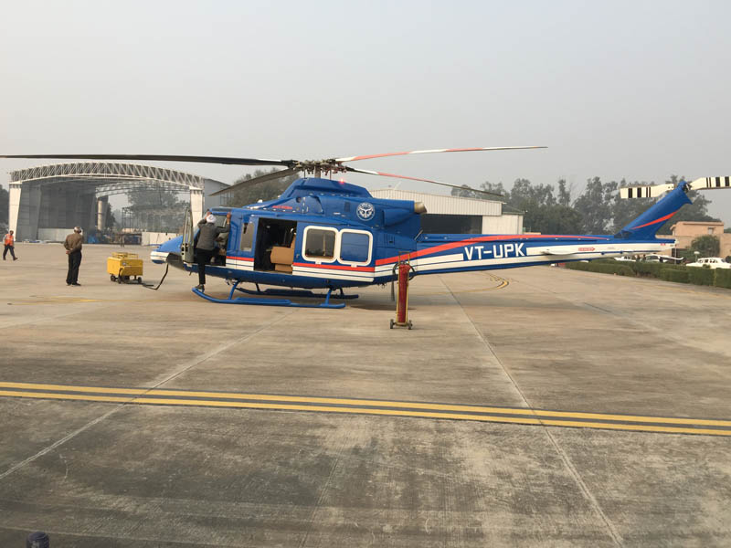 Bell 412EP Delivered to Gov of Uttar Pradesh-aerobdnews