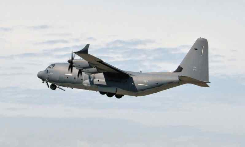 Fuel efficiency testing on MC-130J