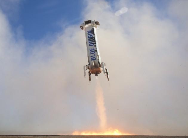 Third test flight for Blue Origin New Shepard
