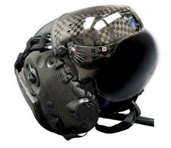This F-35 Helmet Can Let Pilot See Through Plane