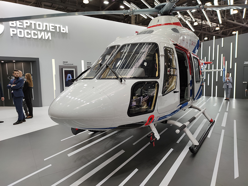 Russian Helicopters presents new equipment options for Ansat at HeliRussia-2020