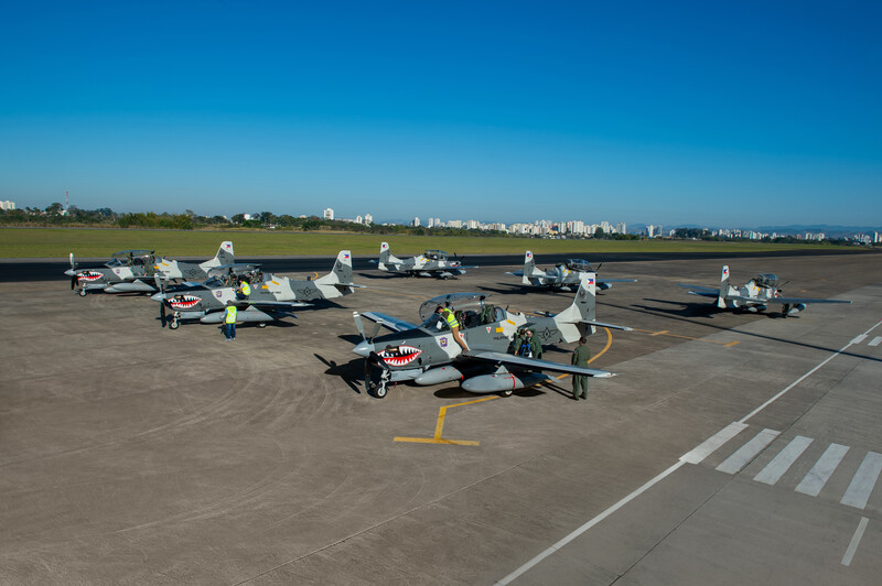 Embraer delivers six A-29 Super Tucano to The Philippine Air Force