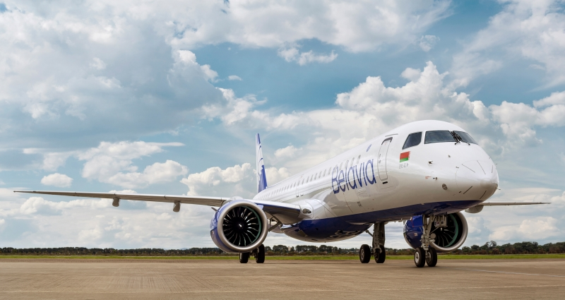 Belavia Takes Delivery of First Embraer E195-E2