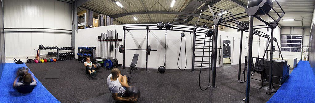 Panorama of the FuncMove GYM by aerobis in Cologne