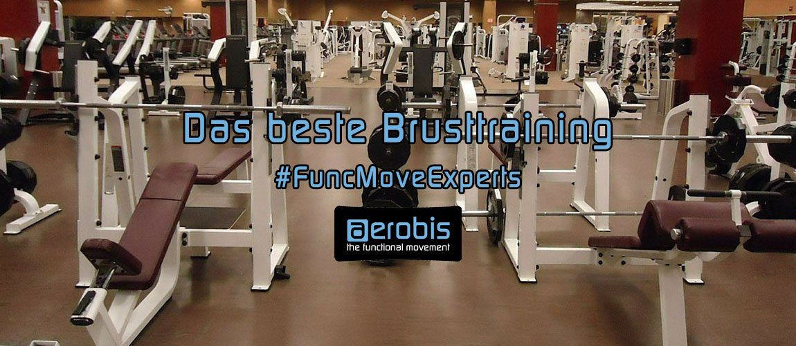 Fitness-Studio Bankdrücken Brusttraining