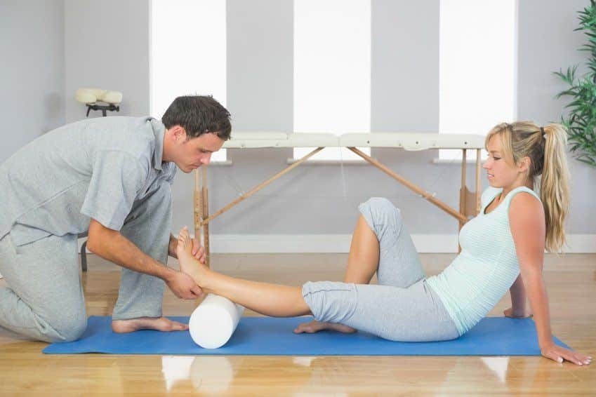 Rolling out fascia can prevent muscle soreness