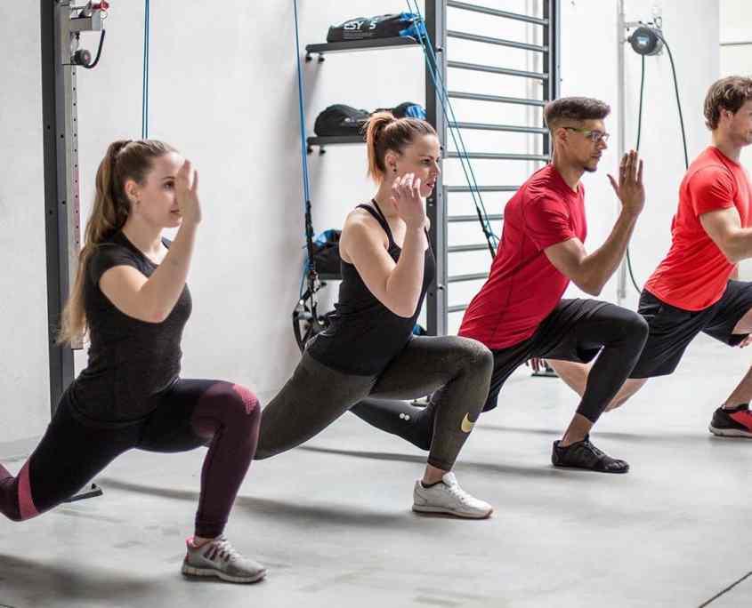 aerosling esercizio di affondo del gruppo di allenamento funzionale del trainer di sospensione
