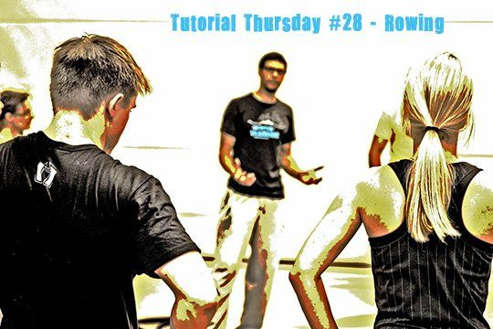 Tutorial Thursday rowing