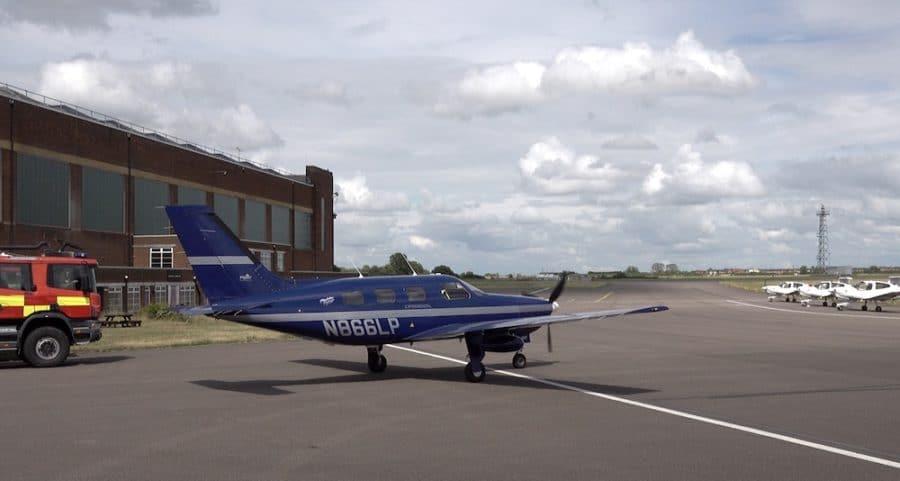 Erstes Brennstoffzellen-Flugzeug ist in Großbritannien geflogen