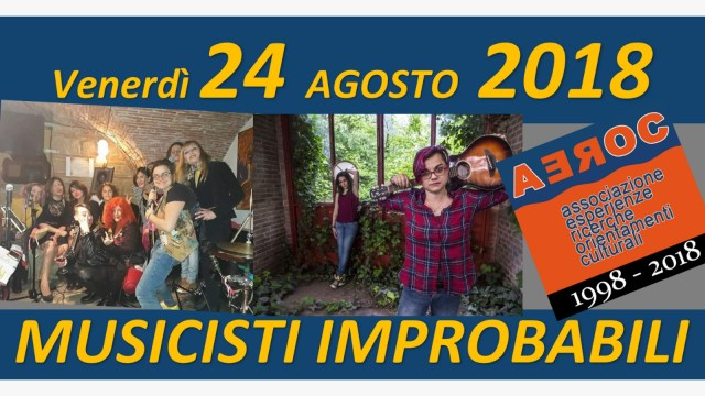 Musicisti Improbabili 24 agosto