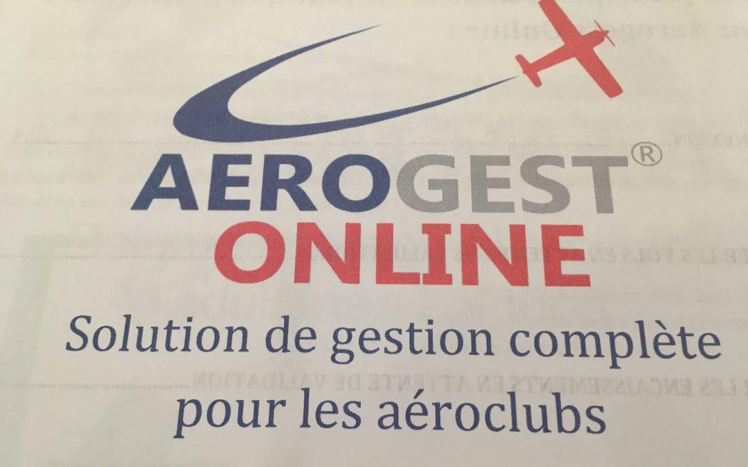 Utilisation Aérogest Online