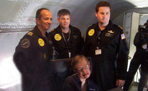 Stephen Hawking Microgravity