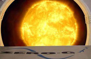 Zero G Sun Graphic