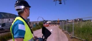 El empleo de Drones en Obra Civil