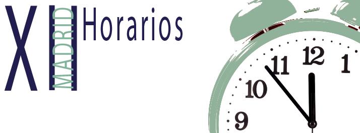 XII_Horarios
