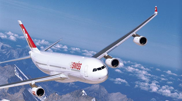 Airbus A340 Swiss