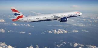 British Airways Boeing 777X Reino Unido