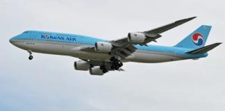 Korean Air Boeing 747 Code One Coréia do Sul