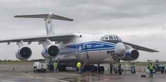 Ilyushin IL-76 avião russo