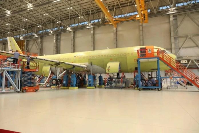 COMAC C919 Fabricação Assembly