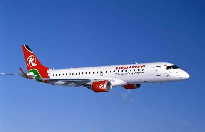 Kenya Airways Congo Embraer 190