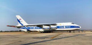 Antonov An-124 Aeroporto de Confins