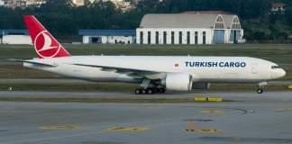 Boeing 777F Turkish Guarulhos São Paulo